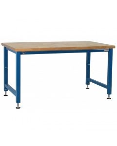 """Kennedy Series Electric Hydraulic Lift with 1-3/4"""" Thick Oiled 100% Solid Maple Hardwood Top"""