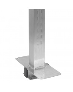 Stainless Steel Uprights - Double Sided Slots, Set of Two