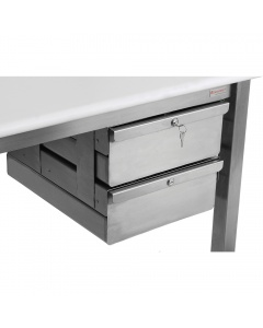 Stainless Steel Drawers, 14.5 Wide - Heavy Duty