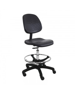 "Eisenhower Urethane Tall with Washington Footring Chairs 10"" Stroke"