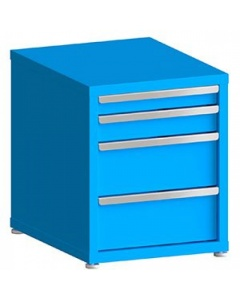 """100# Capacity Drawer Cabinet, 3"""",4"""",8"""",8"""" Drawers, 27"""" H x 22"""" W x 28"""" D"""