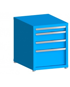 """200# Capacity Drawer Cabinet, 3"""",5"""",5"""",10"""" drawers, 27"""" H x 22"""" W x 28"""" D"""