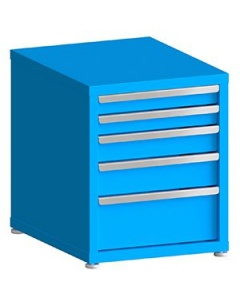"""200# Capacity Drawer Cabinet, 5"""",6"""",6"""",6"""" drawers, 27"""" H x 22"""" W x 28"""" D"""