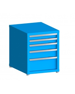 "100# Capacity Drawer Cabinet, 5"",6"",6"",6"" drawers, 27"" H x 22"" W x 28"" D"