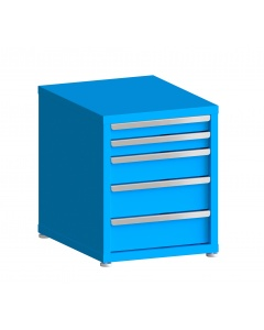 """200# Capacity Drawer Cabinet, 3"""",3"""",5"""",6"""",6"""" drawers, 27"""" H x 22"""" W x 28"""" D"""