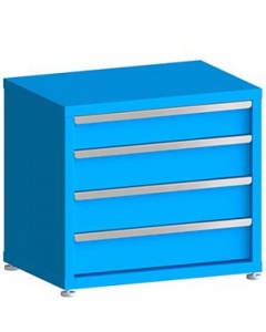 """100# Capacity Drawer Cabinet, 5"""",6"""",6"""",6"""" Drawers, 27"""" H x 30"""" W x 21"""" D"""
