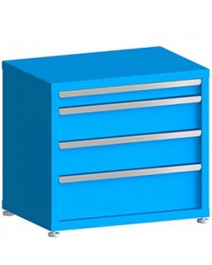 """100# Capacity Drawer Cabinet, 3"""",6"""",6"""",8"""" Drawers, 27"""" H x 30"""" W x 21"""" D"""