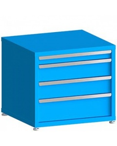 """100# Capacity Drawer Cabinet, 3"""",6"""",6"""",8"""" Drawers, 27"""" H x 30"""" W x 28"""" D"""
