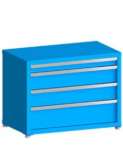 """100# Capacity Drawer Cabinet, 3"""",6"""",6"""",8"""" Drawers, 27"""" H x 36"""" W x 21"""" D"""