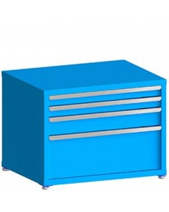 """200# Capacity Drawer Cabinet, 3"""",3"""",5"""",12"""" drawers, 27"""" H x 36"""" W x 28"""" D"""