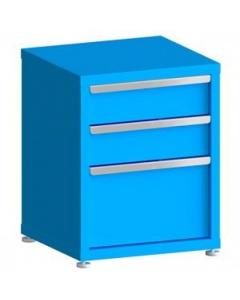 """100# Capacity Drawer Cabinet, 6"""",6"""",12"""" drawers, 28"""" H x 22"""" W x 21"""" D"""