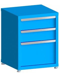 """200# Capacity Drawer Cabinet, 6"""",6"""",12"""" drawers, 28"""" H x 22"""" W x 21"""" D"""