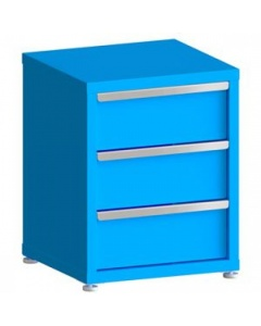 """100# Capacity Drawer Cabinet,  8"""",8"""",8"""" drawers, 28"""" H x 22"""" W x 21"""" D"""