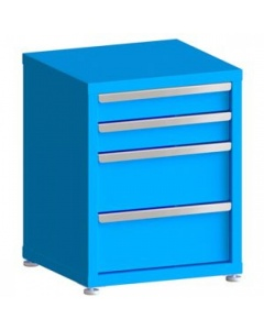 """100# Capacity Drawer Cabinet, 4"""",4"""",8"""",8"""" Drawers, 28"""" H x 22"""" W x 21"""" D"""