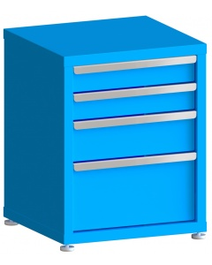 """200# Capacity Drawer Cabinet, 4"""",4"""",6"""",10"""" drawers, 28"""" H x 22"""" W x 21"""" D"""
