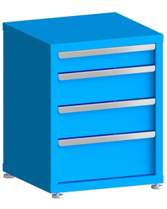 """200# Capacity Drawer Cabinet, 4"""",6"""",6"""",8"""" drawers, 28"""" H x 22"""" W x 21"""" D"""