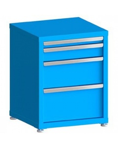 """100# Capacity Drawer Cabinet, 2"""",4"""",8"""",10"""" Drawers, 28"""" H x 22"""" W x 21"""" D"""