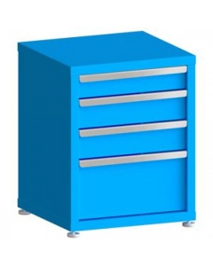"""100# Capacity Drawer Cabinet, 4"""",5"""",5"""",10"""" Drawers, 28"""" H x 22"""" W x 21"""" D"""