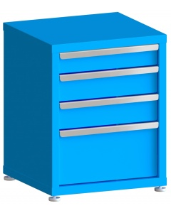 """200# Capacity Drawer Cabinet, 4"""",5"""",5"""",10"""" drawers, 28"""" H x 22"""" W x 21"""" D"""