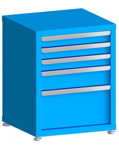 """200# Capacity Drawer Cabinet, 3"""",3"""",3"""",5"""",10"""" drawers, 28"""" H x 22"""" W x 21"""" D"""