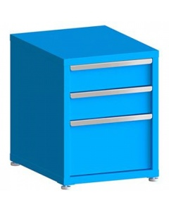 """100# Capacity Drawer Cabinet,  6"""",6"""",12"""" drawers, 28"""" H x 22"""" W x 28"""" D"""