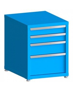 """200# Capacity Drawer Cabinet, 4"""",4"""",6"""",10"""" drawers, 28"""" H x 22"""" W x 28"""" D"""