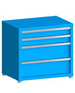 """100# Capacity Drawer Cabinet,  4"""",4"""",8"""",8"""" Drawers, 28"""" H x 30"""" W x 21"""" D"""