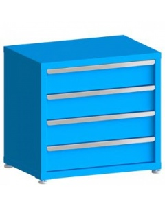 """100# Capacity Drawer Cabinet, 6"""",6"""",6"""",6"""" Drawers, 28"""" H x 30"""" W x 21"""" D"""
