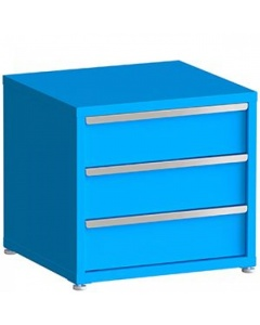 """100# Capacity Drawer Cabinet, 8"""",8"""",8"""" drawers, 28"""" H x 30"""" W x 28"""" D"""