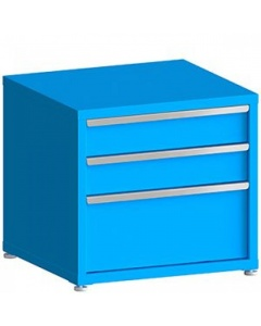 """100# Capacity Drawer Cabinet, 6"""",6"""",12"""" drawers, 28"""" H x 30"""" W x 28"""" D"""
