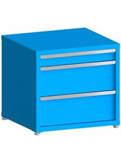 """100# Capacity Drawer Cabinet, 4"""",10"""",10"""" drawers, 28"""" H x 30"""" W x 28"""" D"""