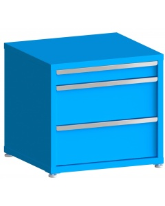 """200# Capacity Drawer Cabinet, 4"""",10"""",10"""" drawers, 28"""" H x 30"""" W x 28"""" D"""