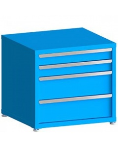 """100# Capacity Drawer Cabinet, 4"""",4"""",8"""",8"""" Drawers, 28"""" H x 30"""" W x 28"""" D"""
