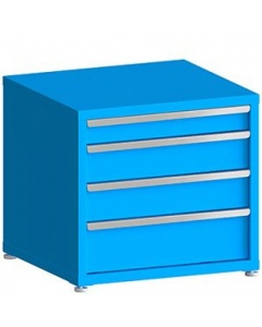 """100# Capacity Drawer Cabinet, 4"""",6"""",6"""",8"""" Drawers, 28"""" H x 30"""" W x 28"""" D"""