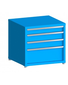 """200# Capacity Drawer Cabinet, 4"""",5"""",5"""",10"""" drawers, 28"""" H x 30"""" W x 28"""" D"""