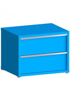 """200# Capacity Drawer Cabinet, 12"""",12"""" drawers, 28"""" H x 36"""" W x 21"""" D"""