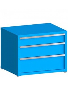 """100# Capacity Drawer Cabinet, 6"""",8"""",10"""" drawers, 28"""" H x 36"""" W x 21"""" D"""