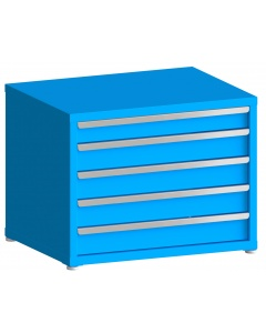 """200# Capacity Drawer Cabinet, 4"""",5"""",5"""",5"""",5"""" drawers, 28"""" H x 36"""" W x 21"""" D"""