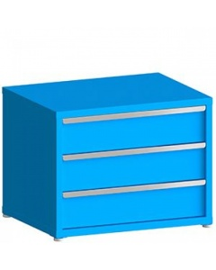 """100# Capacity Drawer Cabinet, 8"""",8"""",8"""" drawers, 28"""" H x 36"""" W x 28"""" D"""