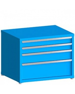 """100# Capacity Drawer Cabinet, 4"""",4"""",6"""",10"""" Drawers, 28"""" H x 36"""" W x 28"""" D"""