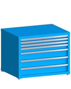 "100# Capacity Drawer Cabinet, 2"",2"",2"",3"",5"",5"",5"" drawers, 28"" H x 36"" W x 28"" D"