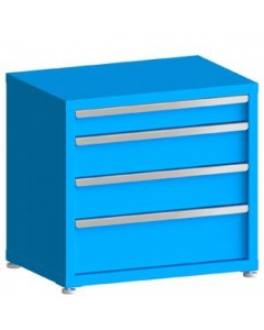 """100# Capacity Drawer Cabinet, 4"""",6"""",6"""",8"""" Drawers, 28"""" H x 30"""" W x 21"""" D"""