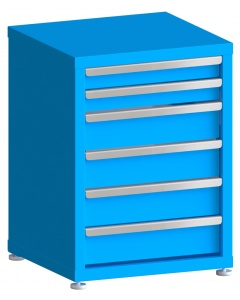 """200# Capacity Drawer Cabinet, 3"""",3"""",5"""",5"""",5"""",5"""" drawers, 30"""" H x 22"""" W x 21"""" D"""