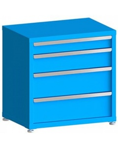 """100# Capacity Drawer Cabinet, 4"""",6"""",8"""",8"""" Drawers, 30"""" H x 30"""" W x 21"""" D"""