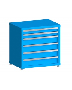 """200# Capacity Drawer Cabinet, 3"""",3"""",5"""",5"""",5"""",5"""" drawers, 30"""" H x 30"""" W x 21"""" D"""