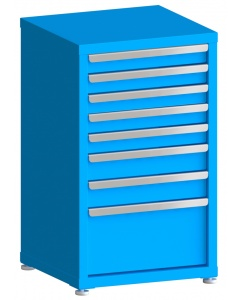 """200# Capacity Drawer Cabinet, 3"""",3"""",3"""",3"""",3"""",4"""",4"""",10"""" drawers, 37"""" H x 22"""" W x 21"""" D"""