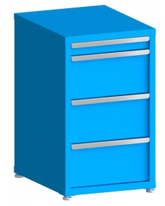 "100# Capacity Drawer Cabinet, 3"",10"",10"",10"" drawers, 37"" H x 22"" W x 28"" D"