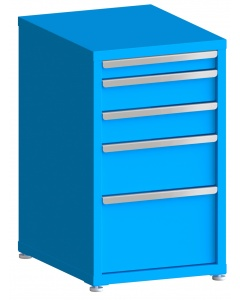 "100# Capacity Drawer Cabinet, 3"",5"",5"",8"",12"" drawers, 37"" H x 22"" W x 28"" D"