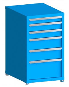 "100# Capacity Drawer Cabinet, 3"",4"",4"",6"",6"",10"" drawers, 37"" H x 22"" W x 28"" D"