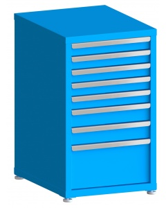 "100# Capacity Drawer Cabinet, 3"",3"",3"",3"",3"",4"",4"",10"" drawers, 37"" H x 22"" W x 28"" D"